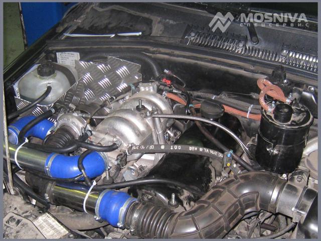 Как увеличить мощность двигателя шевроле нива своими руками